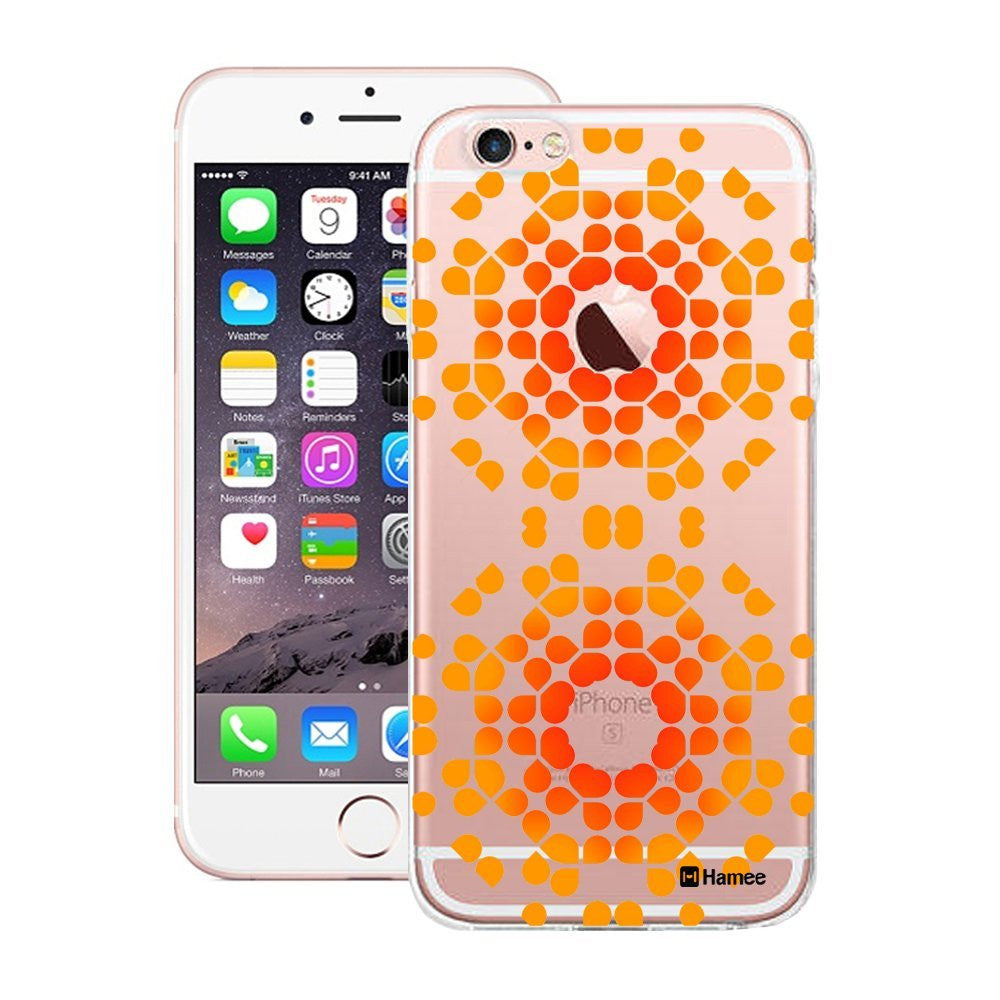 Hamee Radiant Orange Design Designer Cover For Apple iPhone 6 / 6S - Hamee India