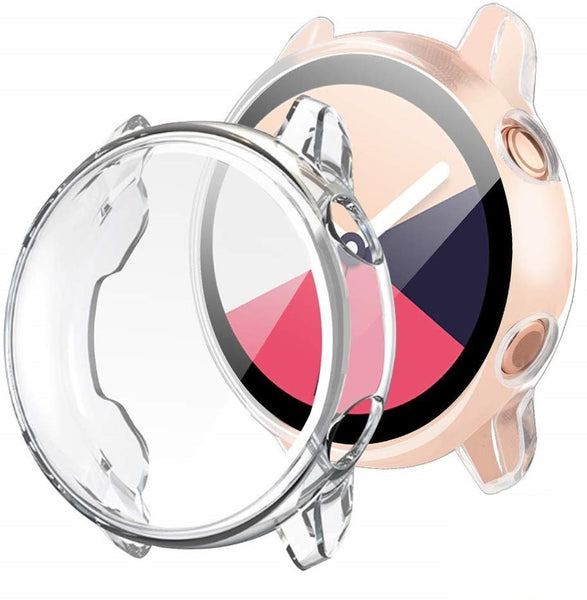 Full Cover TPU Bumper for Samsung Watch Active 40mm (Clear)