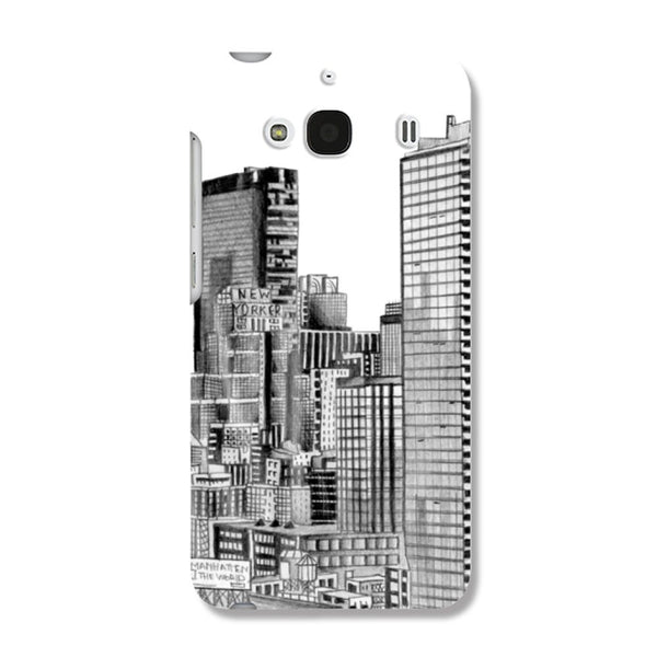Hamee City / Black X White Designer Cover For Samsung Galaxy On5 - Hamee India