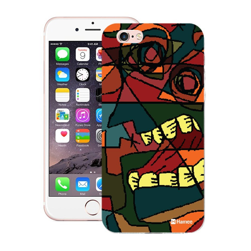 Hamee Growling Face Designer Cover For iPhone 5 / 5S / Se-Hamee India