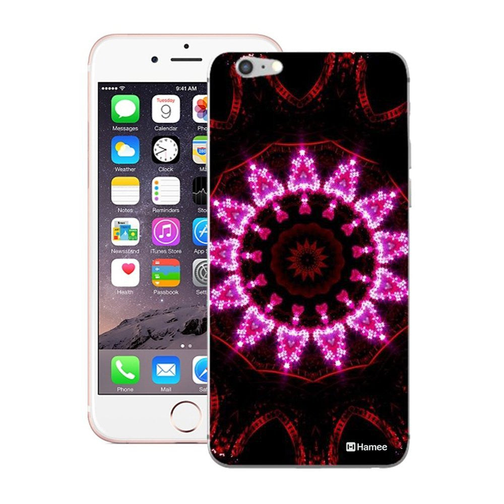Hamee Pink Kaleidoscope Designer Cover For Apple iPhone 6 Plus / 6S Plus-Hamee India