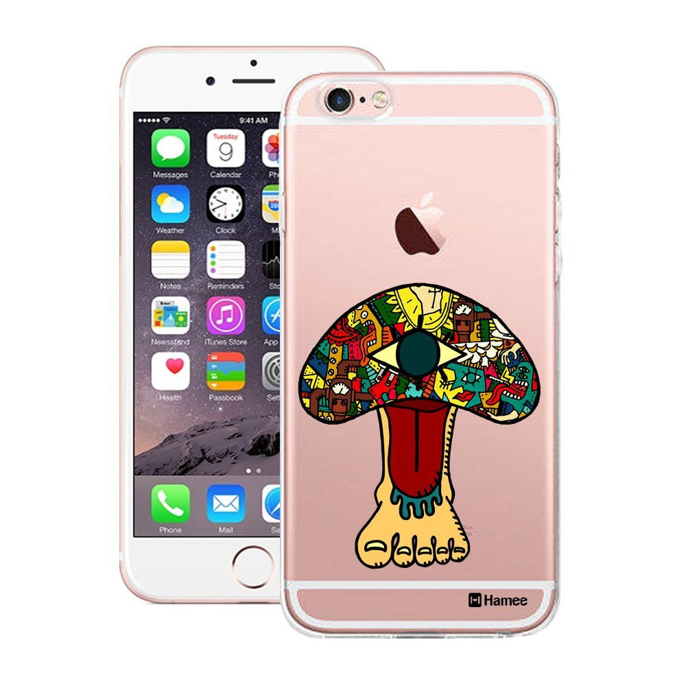Hamee Foot Face Designer Cover For Apple iPhone 6 / 6S-Hamee India