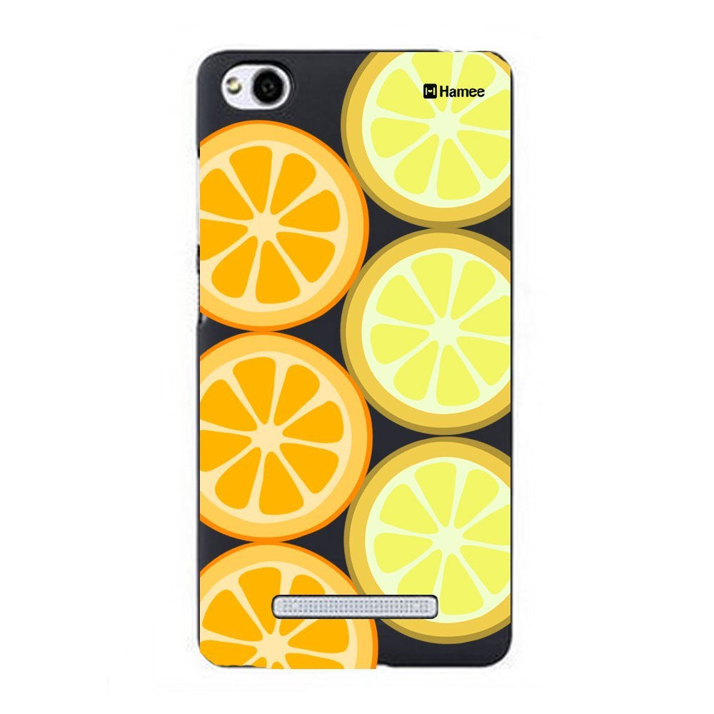 Hamee Oranges Designer Cover For Xiaomi Redmi 3 - Hamee India
