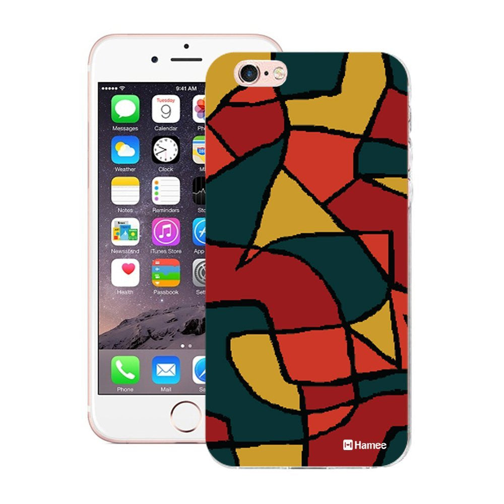 Hamee Colourful Abstract Designer Cover For Apple iPhone 6 / 6S-Hamee India