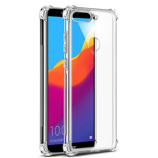 Anti Shock TPU Transparent Case - Oppo F9 Pro-Hamee India