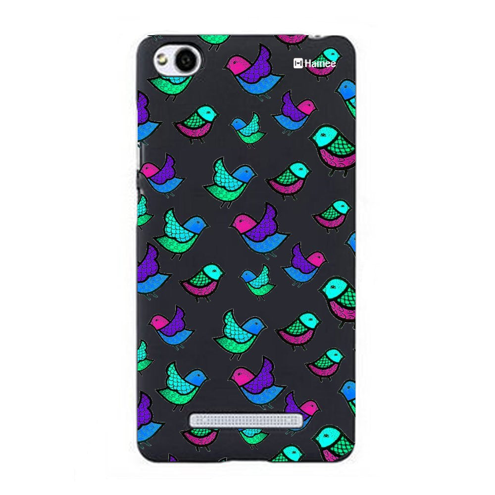 Hamee Colourful Birds Designer Cover For Xiaomi Redmi 3-Hamee India