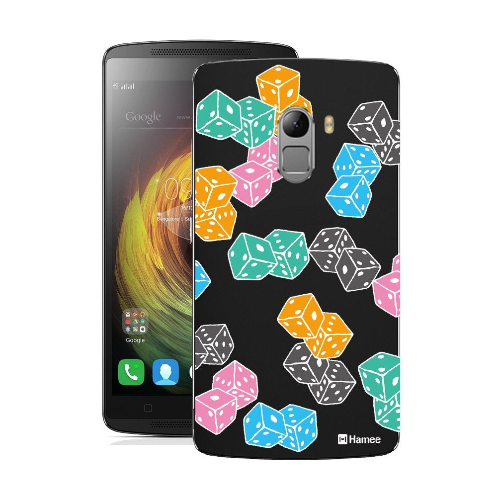 Hamee Multicolour Dice Designer Cover For Lenovo K4 Note-Hamee India