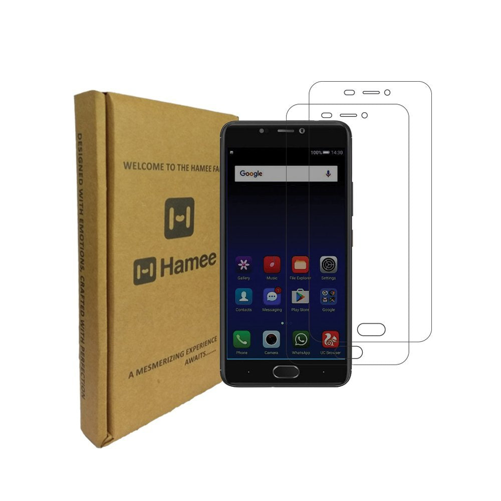 Hamee 9H Scratch Resistant Screen Guard for Gionee A1 (Set of 2)-Hamee India