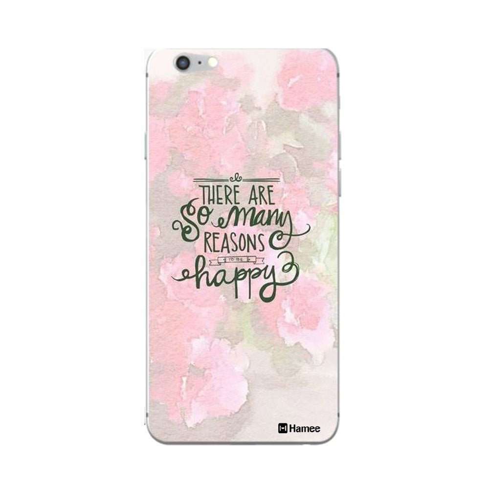 Hamee Happy Quote / Pink Customized Cover for Xiaomi Mi5-Hamee India