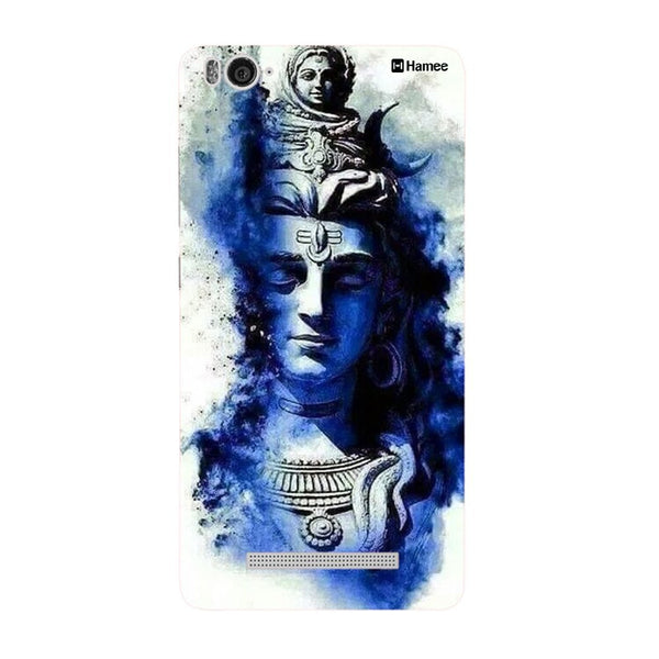 Hamee Blue God Head Designer Cover For Xiaomi Redmi 3-Hamee India