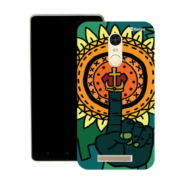 Hamee Abstract Hand Finger Designer Cover For Motorola Moto X Play - Hamee India