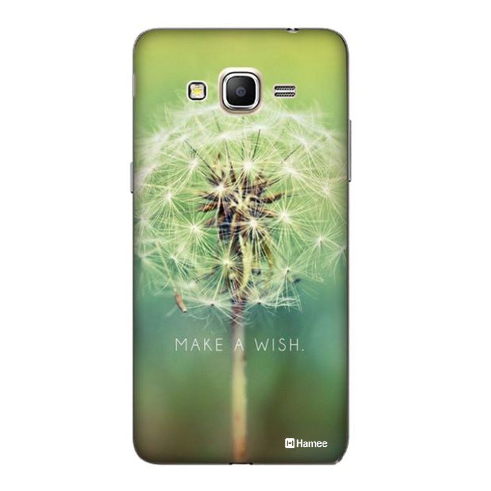 Hamee Wish Flower / Green Designer Cover For Samsung Galaxy J7-Hamee India