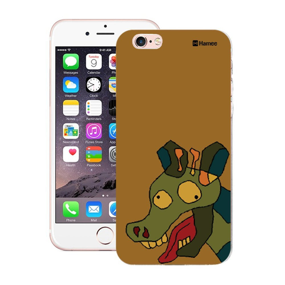 Hamee Peeping Cow Designer Cover For Apple iPhone 6 Plus / 6S Plus - Hamee India