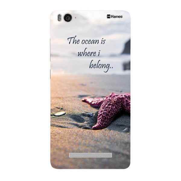 Ocean Quote Redmi 3 / 3s Back Cover-Hamee India