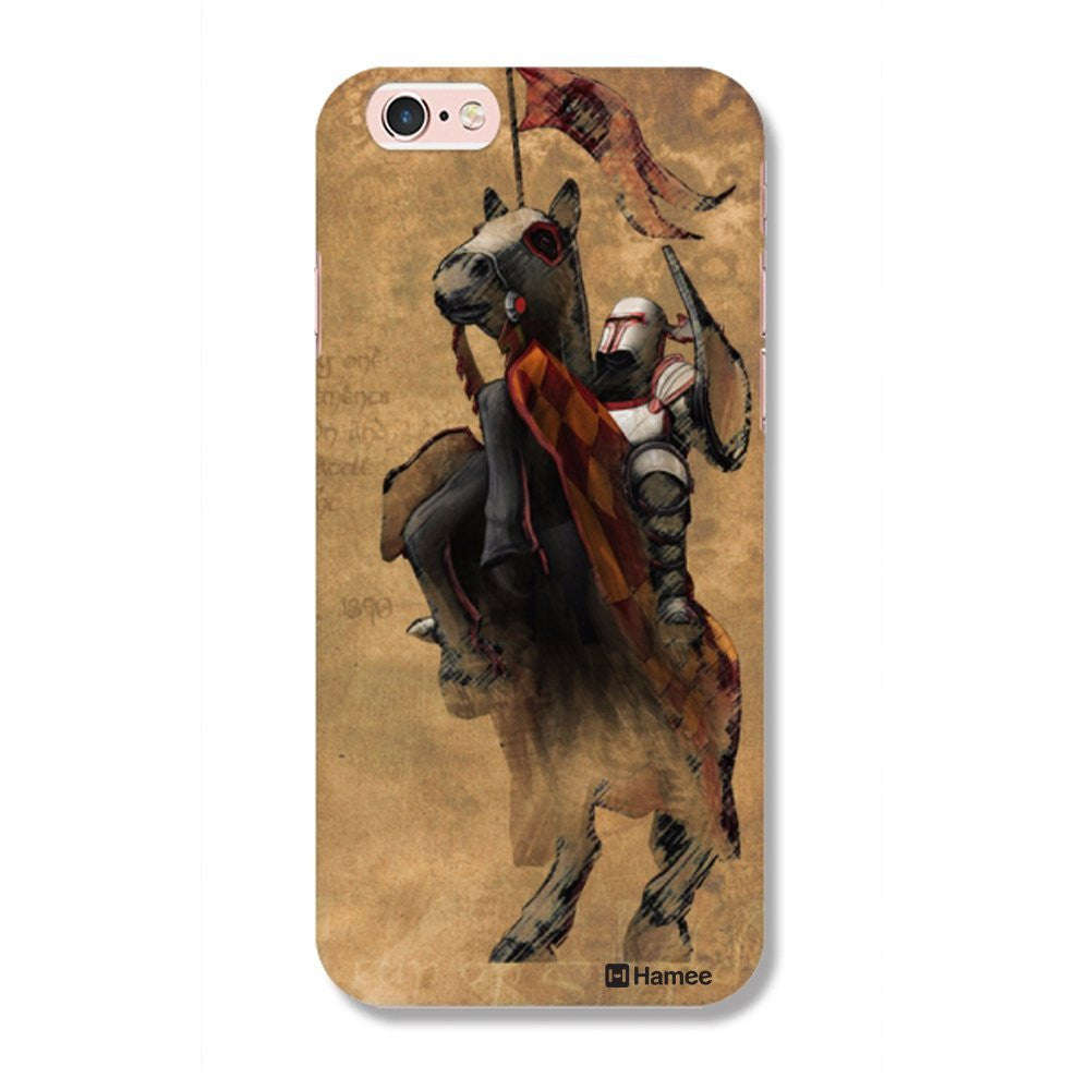 Hamee Knight / Brown Designer Cover For iPhone 5 / 5S / Se - Hamee India