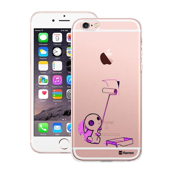 Hamee Black Little Monster Designer Cover For Apple iPhone 6 Plus / 6S Plus - Hamee India