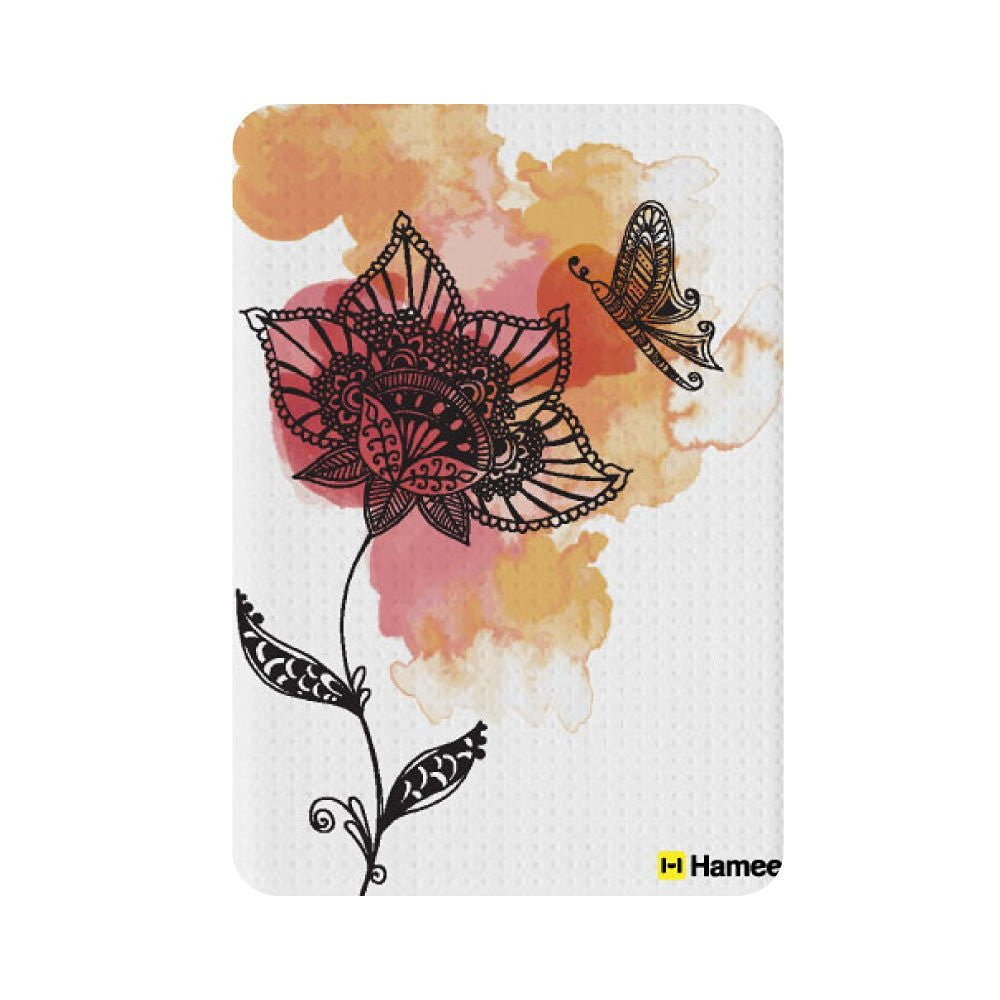 Hamee Flower and Butterfly Designer 5000 mAh Power Bank-Hamee India