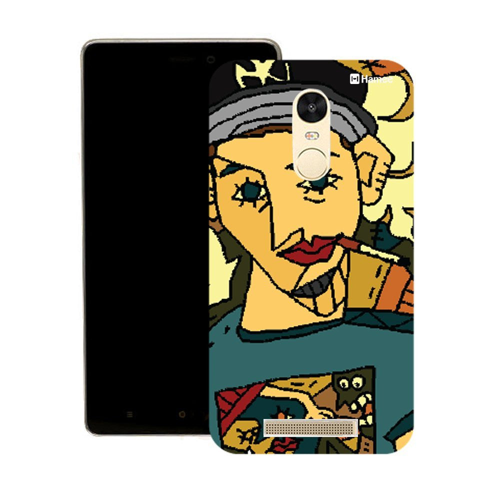 Hamee Smoking Guy 2 Designer Cover For Motorola Moto G3 - Hamee India