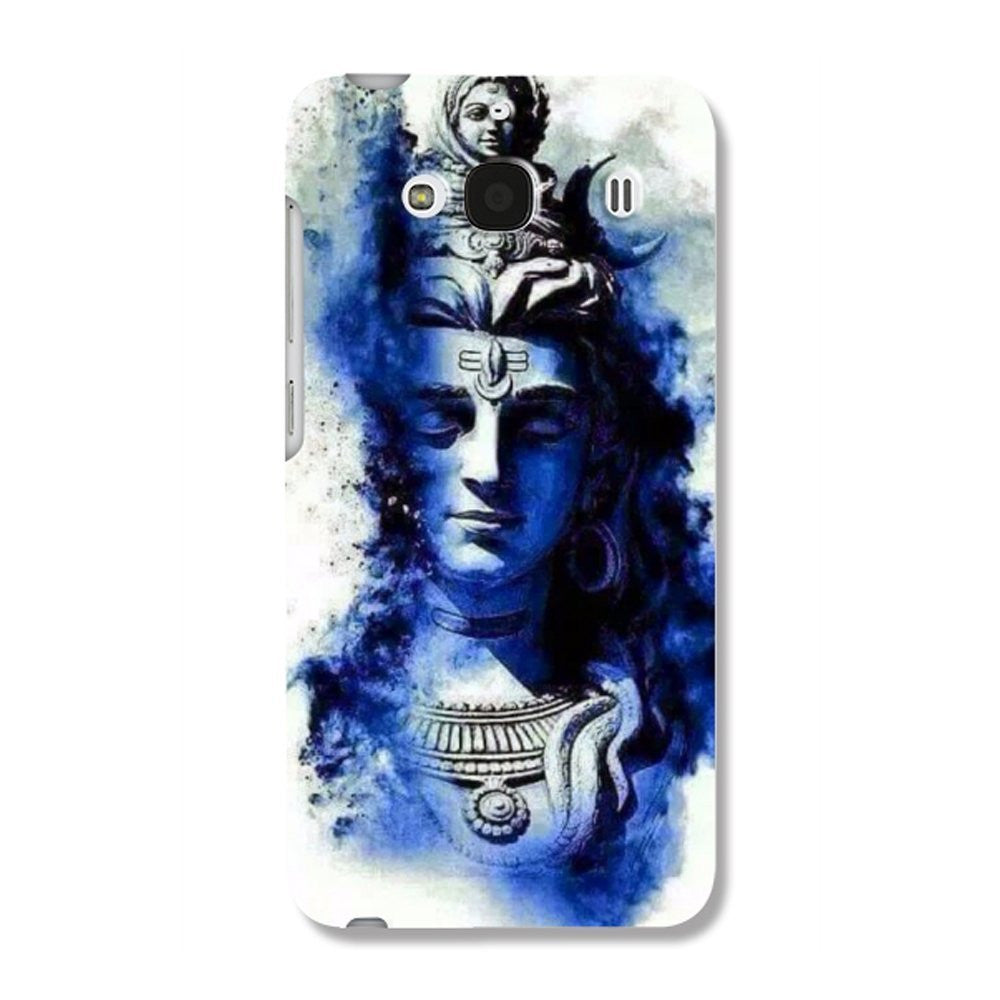 Hamee Watercolour God / Blue Designer Cover For Xiaomi Redmi 2 / 2 Prime-Hamee India