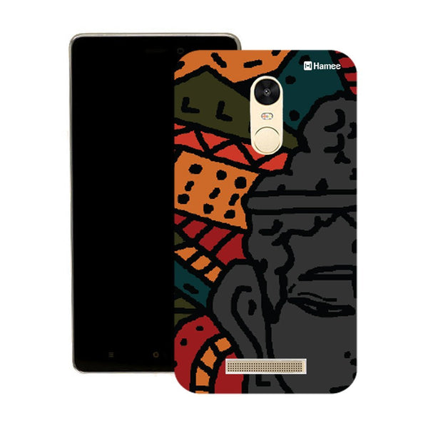 Hamee Abstract Buddha Designer Cover For Motorola Moto X Play - Hamee India