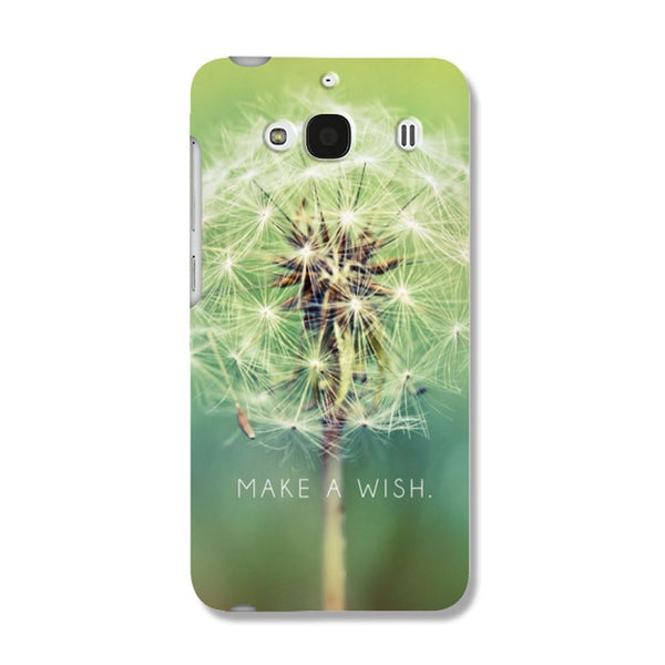 Hamee Make A Wish / Green Designer Cover For Xiaomi Redmi 2 / 2 Prime - Hamee India