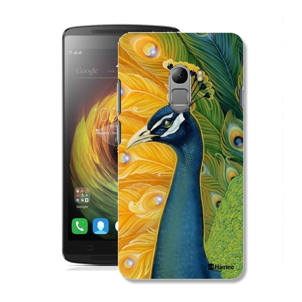 Hamee Peacock Face Designer Cover For Lenovo K4 Note-Hamee India