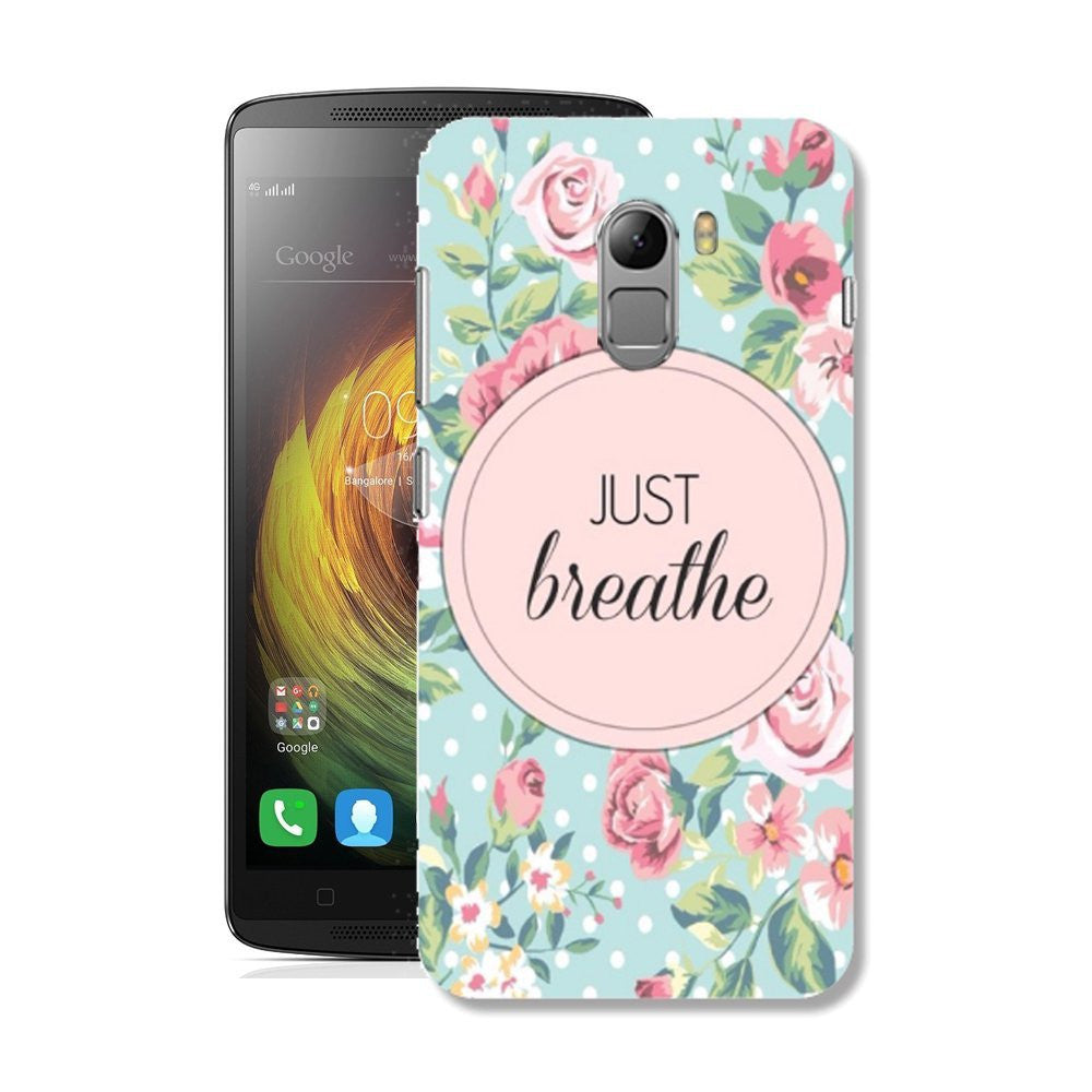 Hamee Just Breathe / Pink X Blue Designer Cover For Lenovo K4 Note-Hamee India