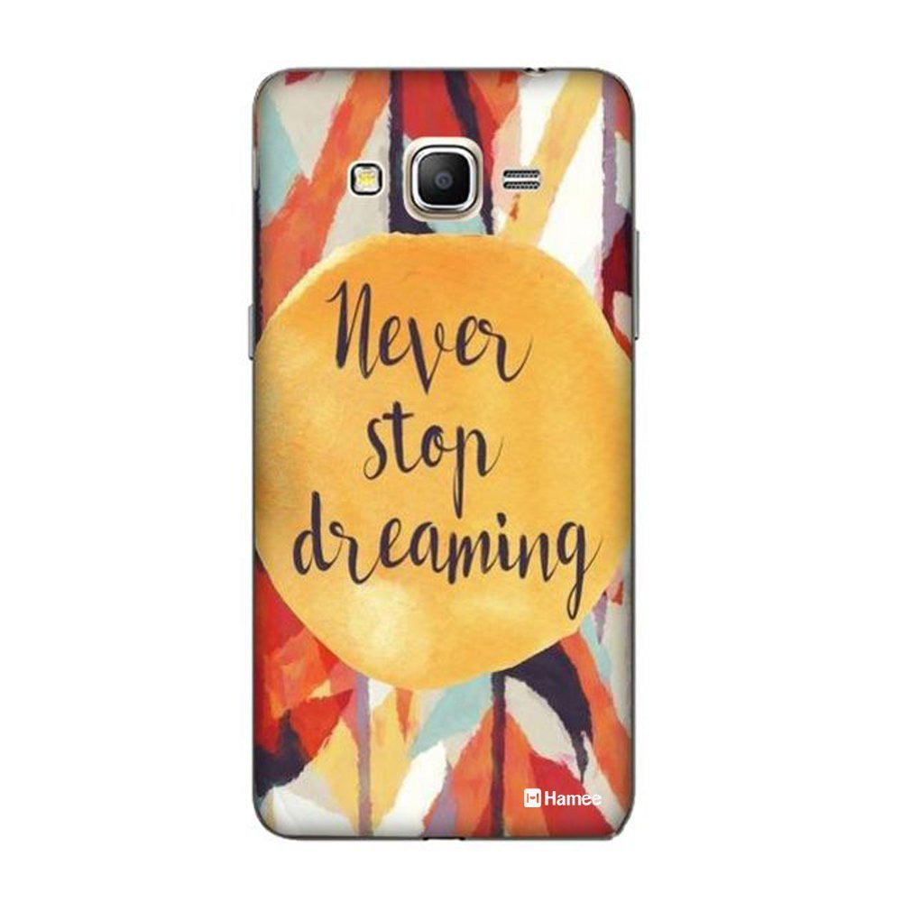 Hamee Never Stop Dreaming Designer Cover For Samsung Galaxy J3 - Hamee India