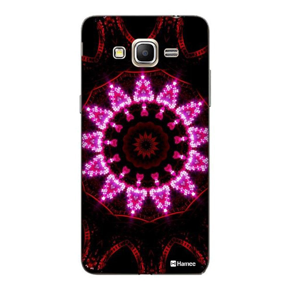 Hamee Pink Kaleidoscope Designer Cover For Samsung Galaxy J7-Hamee India