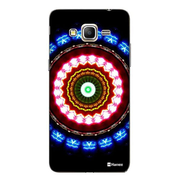 Hamee Blue Red Kaleidoscope Designer Cover For Samsung Galaxy J3 - Hamee India