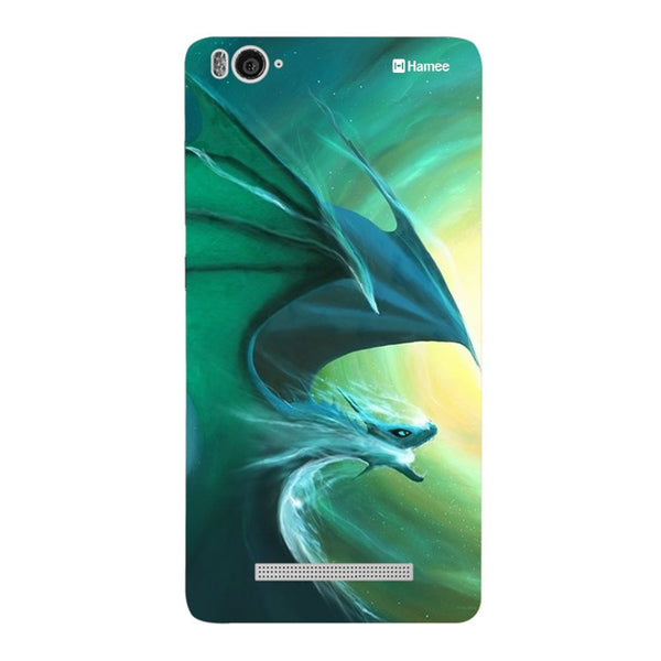 Hamee Blue Dragon Designer Cover For Xiaomi Redmi 3-Hamee India