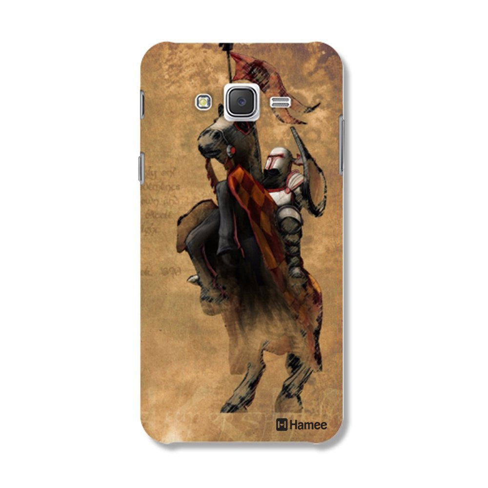 Hamee Knight / Brown Designer Cover For Samsung Galaxy J7-Hamee India
