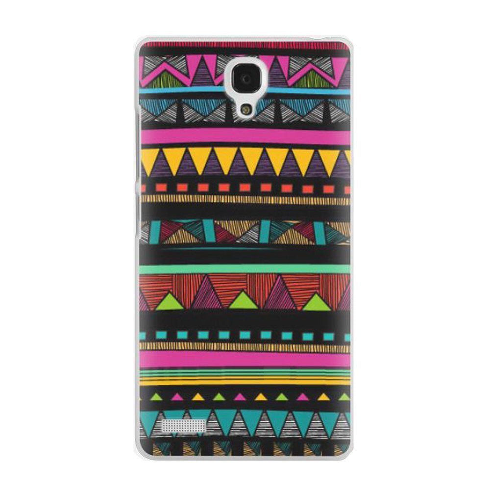 Hamee Tribal Print / Multicolour Designer Cover For Xiaomi Redmi Note-Hamee India