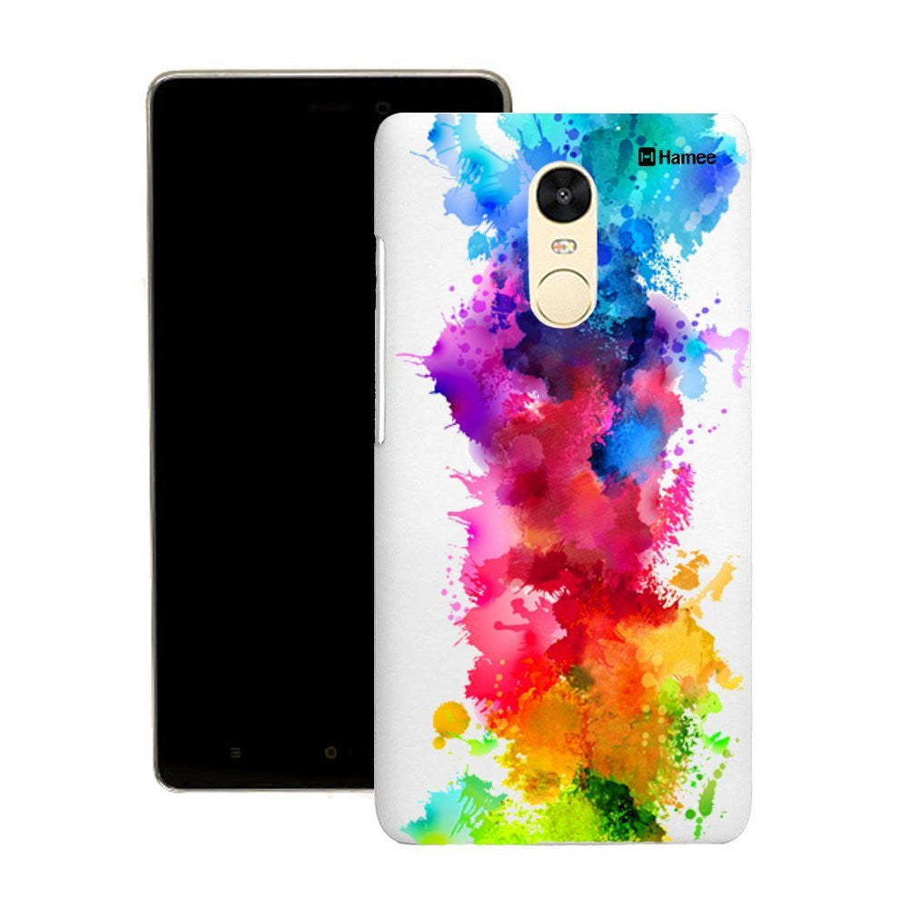 Hamee Multicolour Paint Splash Customized Cover for Motorola Moto G4 Plus-Hamee India