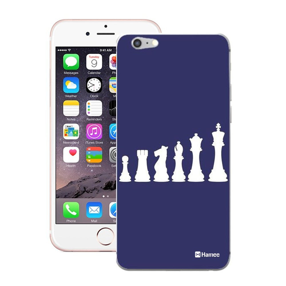 Hamee Chess Blue Designer Cover For iPhone 5 / 5S / Se-Hamee India