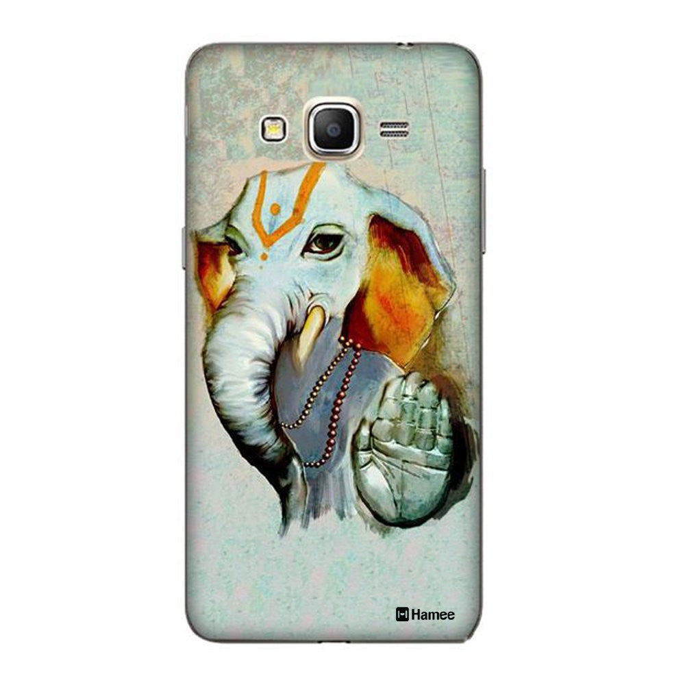 Hamee Ganesha Blessings Grey Designer Cover For Coolpad Note 3 - Hamee India