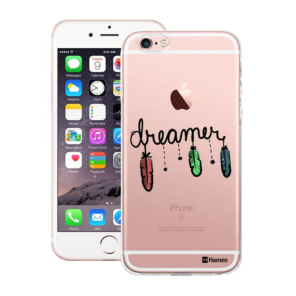 Hamee Black Dreamer Designer Cover For Apple iPhone 6 Plus / 6S Plus - Hamee India