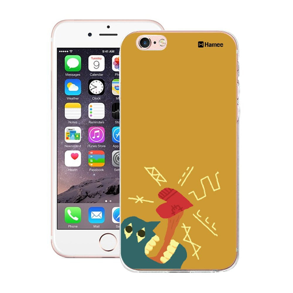 Hamee Heart Tongue Designer Cover For iPhone 5 / 5S / Se-Hamee India