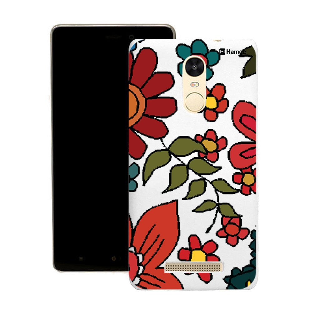 Hamee Clear Flower Painting Customized Cover for Motorola Moto G4 Plus-Hamee India
