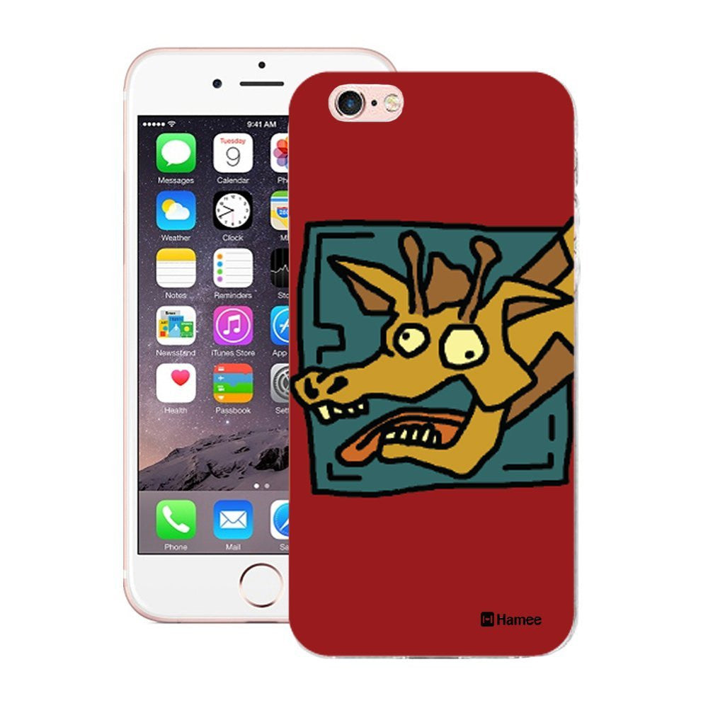 Hamee Giraffe Designer Cover For iPhone 5 / 5S / Se - Hamee India