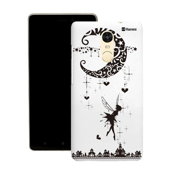 Hamee Black Moon Fairy Designer Cover For Motorola Moto X Play - Hamee India