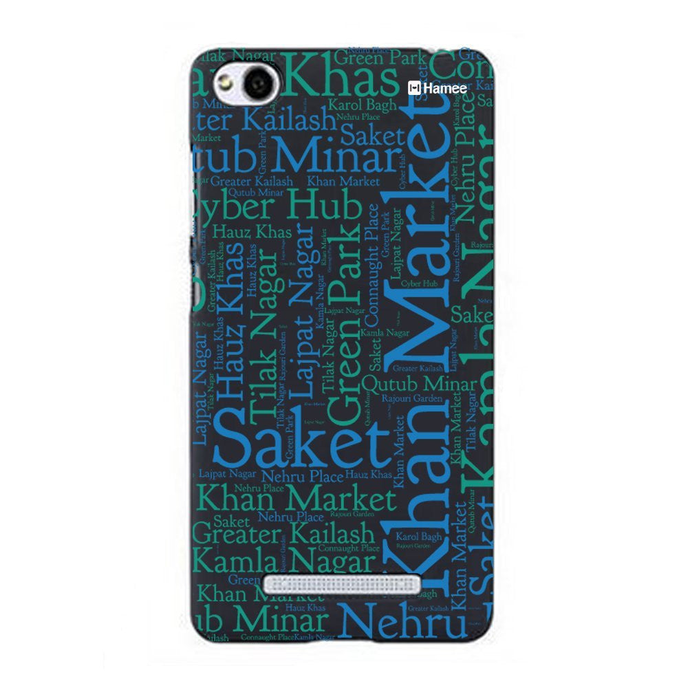 Hamee Delhi Markets Designer Cover For Xiaomi Redmi 3-Hamee India