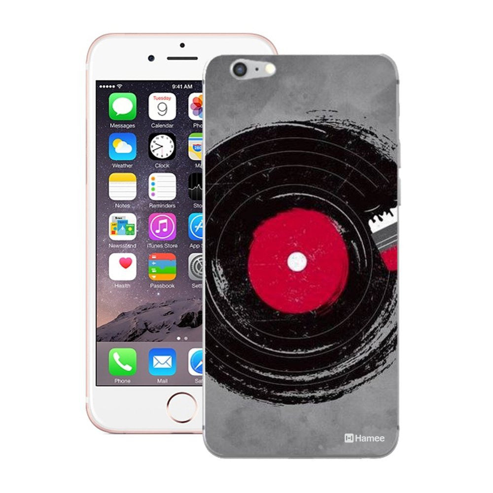 Hamee Painted Disk Designer Cover For iPhone 5 / 5S / Se-Hamee India