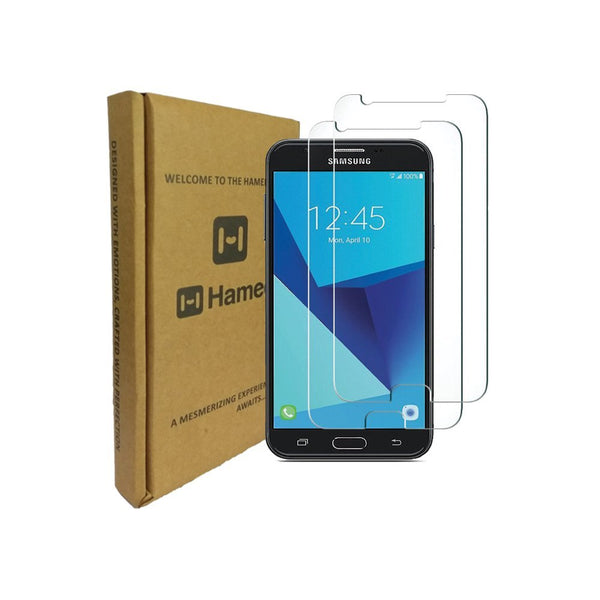 Hamee 9H Scratch Resistant Screen Guard for Samsung Galaxy On 7/ On 7 Pro (Set of 2)