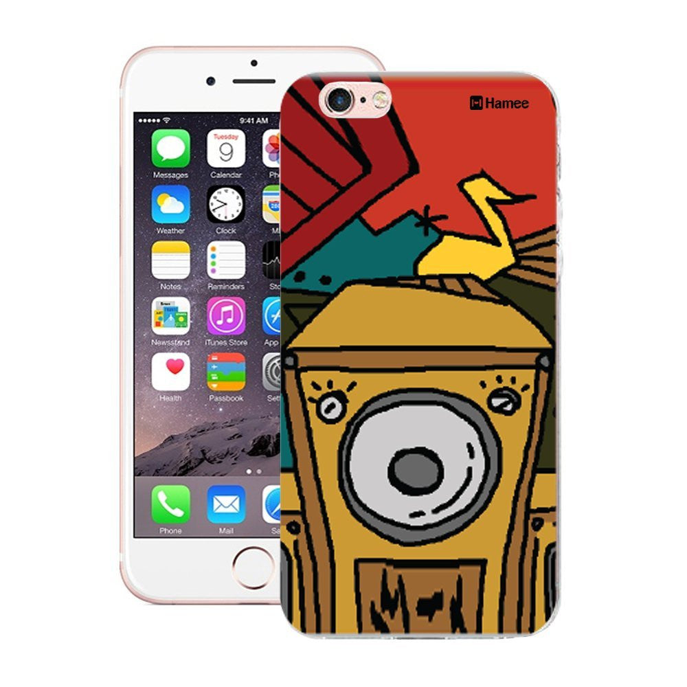 Hamee Boombox Front Designer Cover For Apple iPhone 6 / 6S-Hamee India