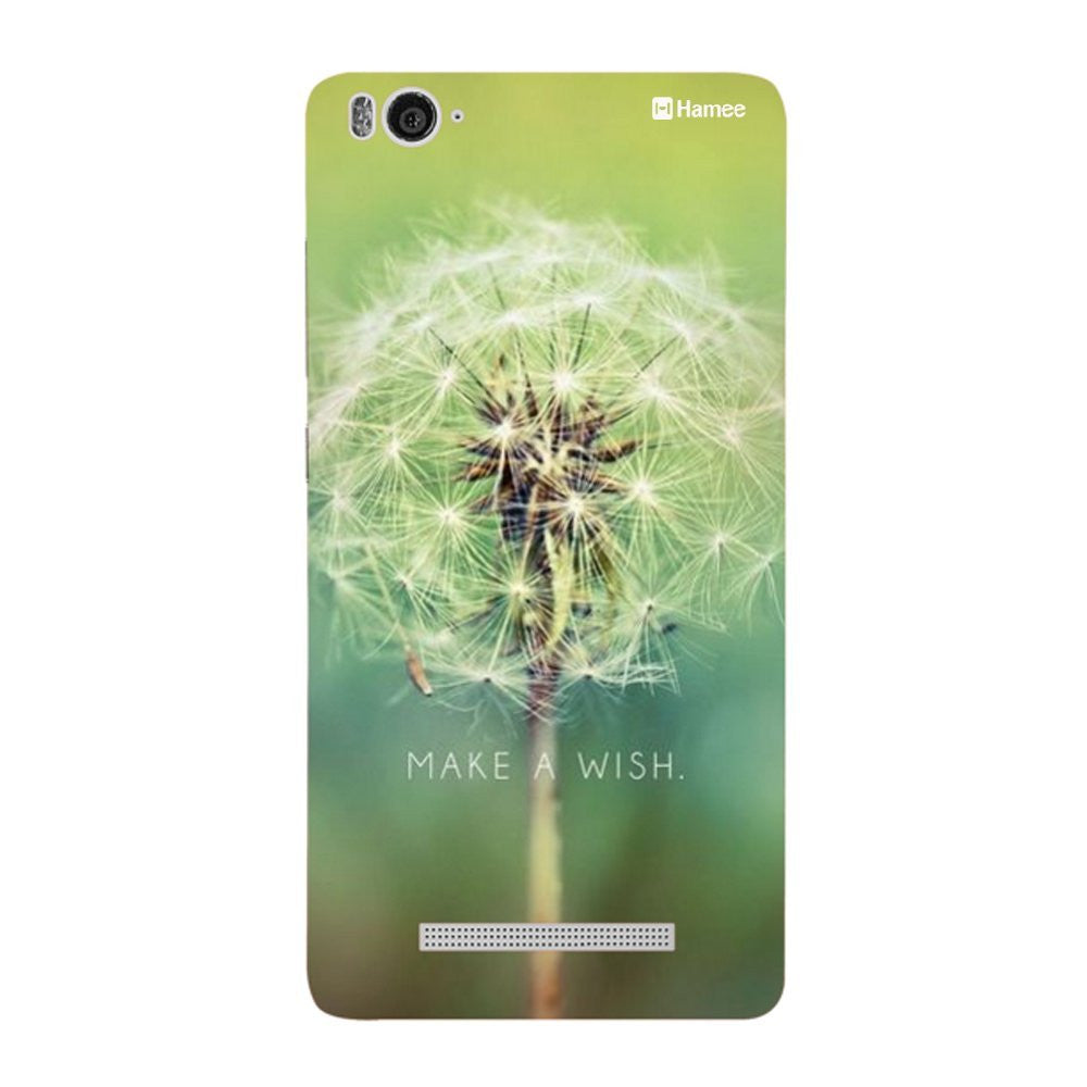 Hamee Green Wish Designer Cover For Xiaomi Redmi 3-Hamee India