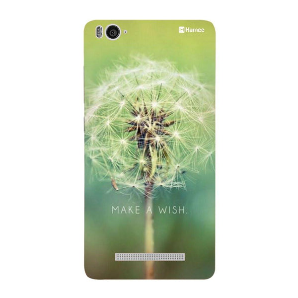 Green Wish Redmi 3 / 3s Back Cover-Hamee India