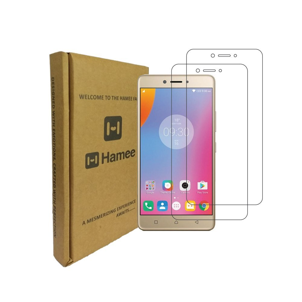 Hamee 9H Scratch Resistant Screen Guard for Lenovo K8 Note (Set of 2)-Hamee India