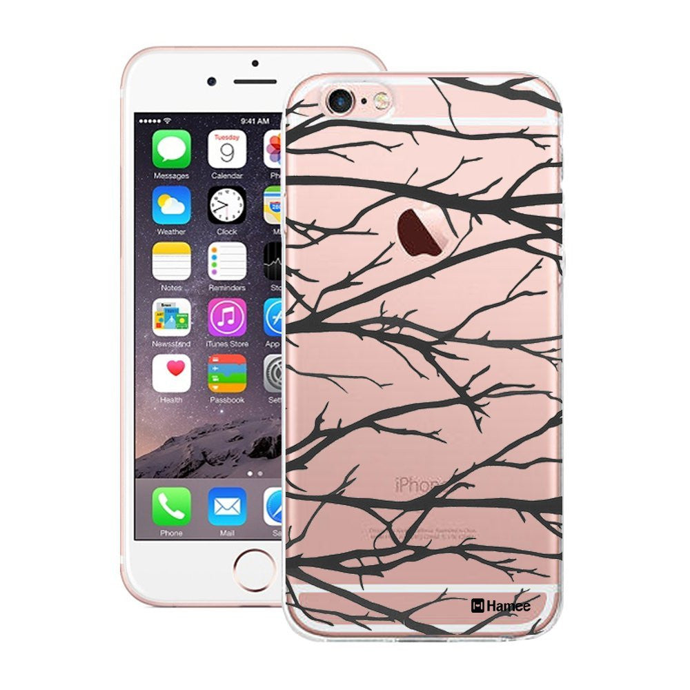 Hamee Black Branches Designer Cover For iPhone 5 / 5S / Se - Hamee India