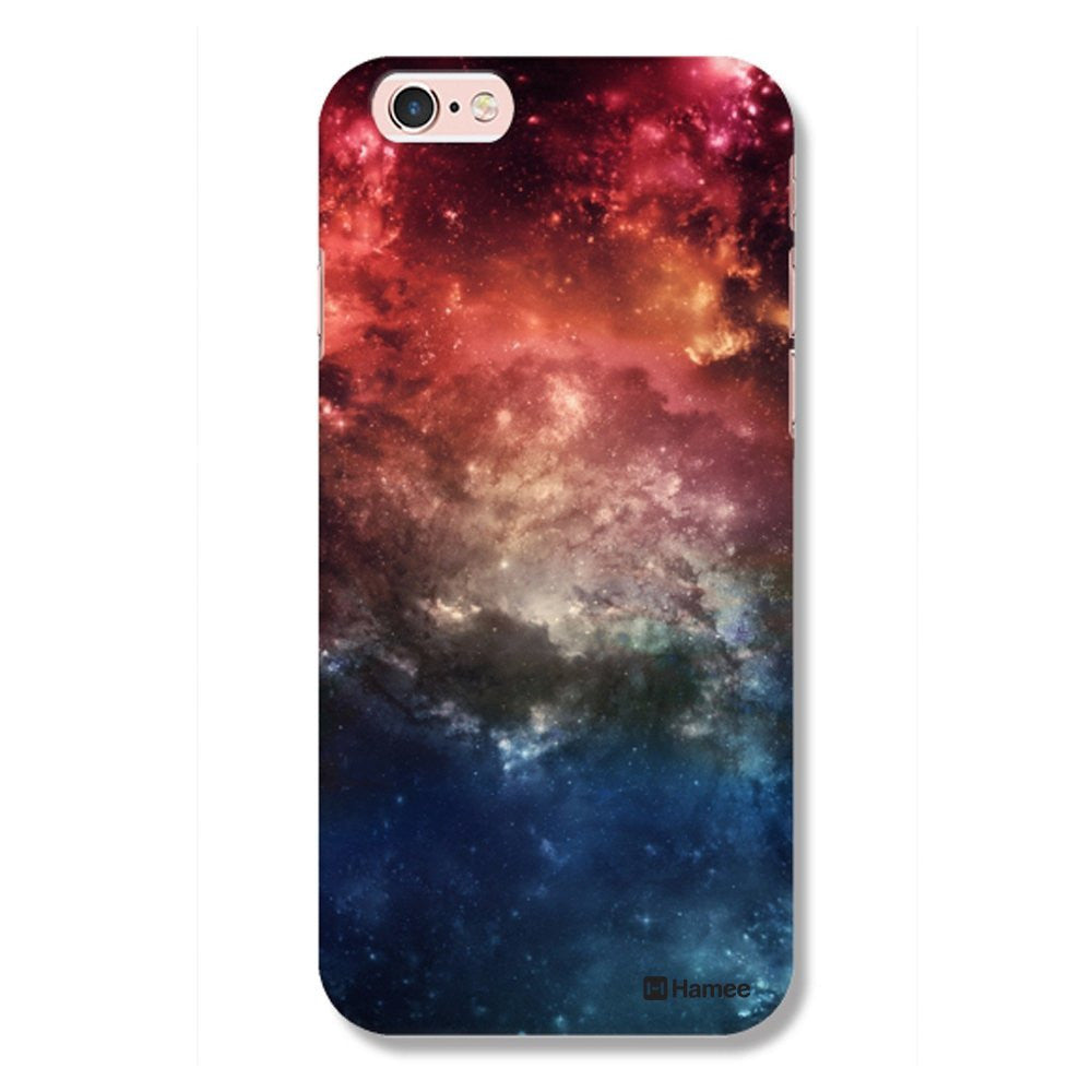 Hamee Designer Cover Hard Back Case for iPhone 6 / 6s (Space / Multicolour) - Hamee India